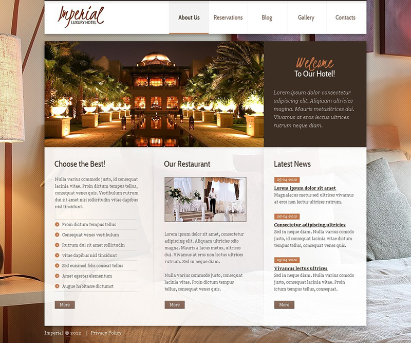 17 best joomla hotel templates free download creative for Best paid blogger templates