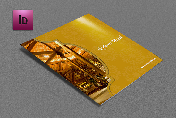 Hotel and Motel Brochure Template