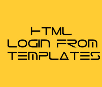 Html Login From