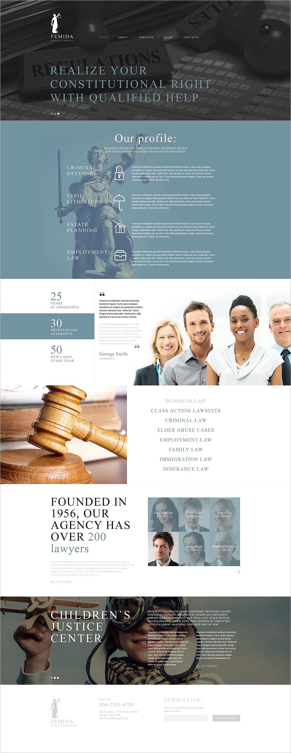 Joomla Business Blog Template