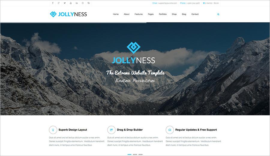 Latest Business Joomla Template