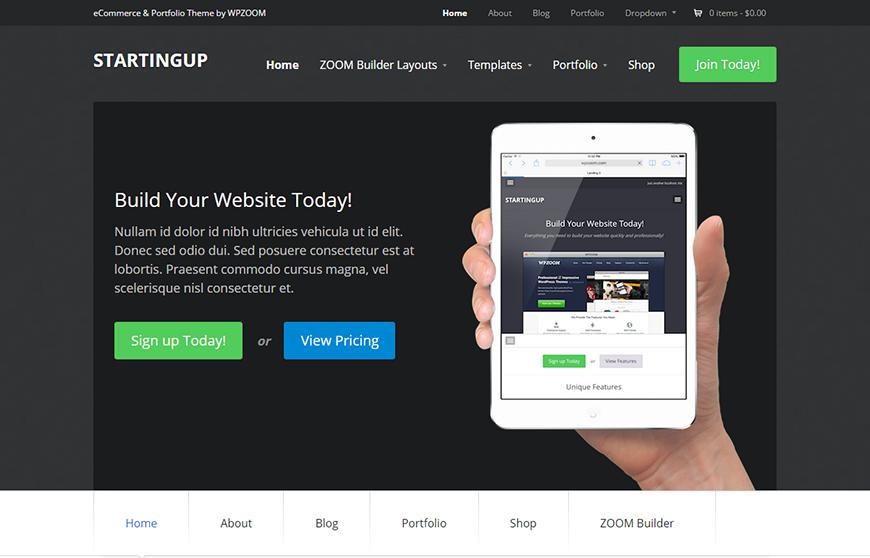 Latest Multipurpose WordPress Blog Theme