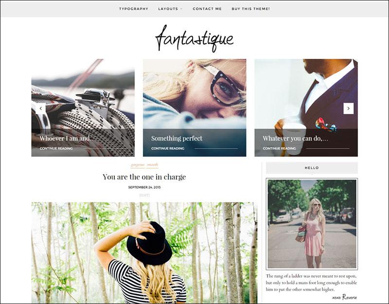 Light WordPress Blog Theme