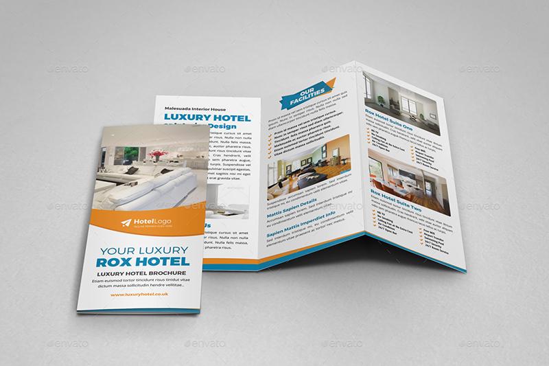 Luxury Hotel Brochure Template