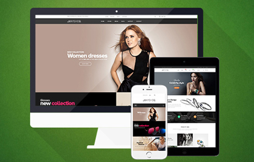 Magento Template For Women Fashion Online Store