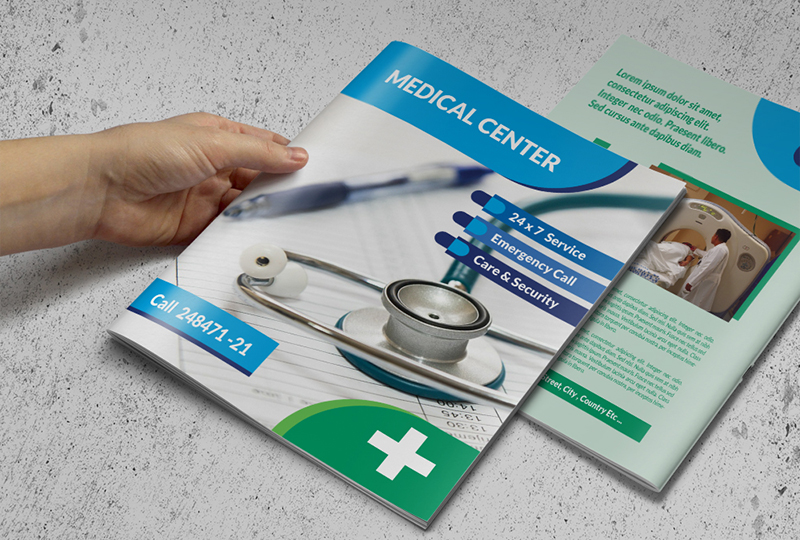 Medical HealthCare Brochures Templates Creative Template - Free medical brochure templates