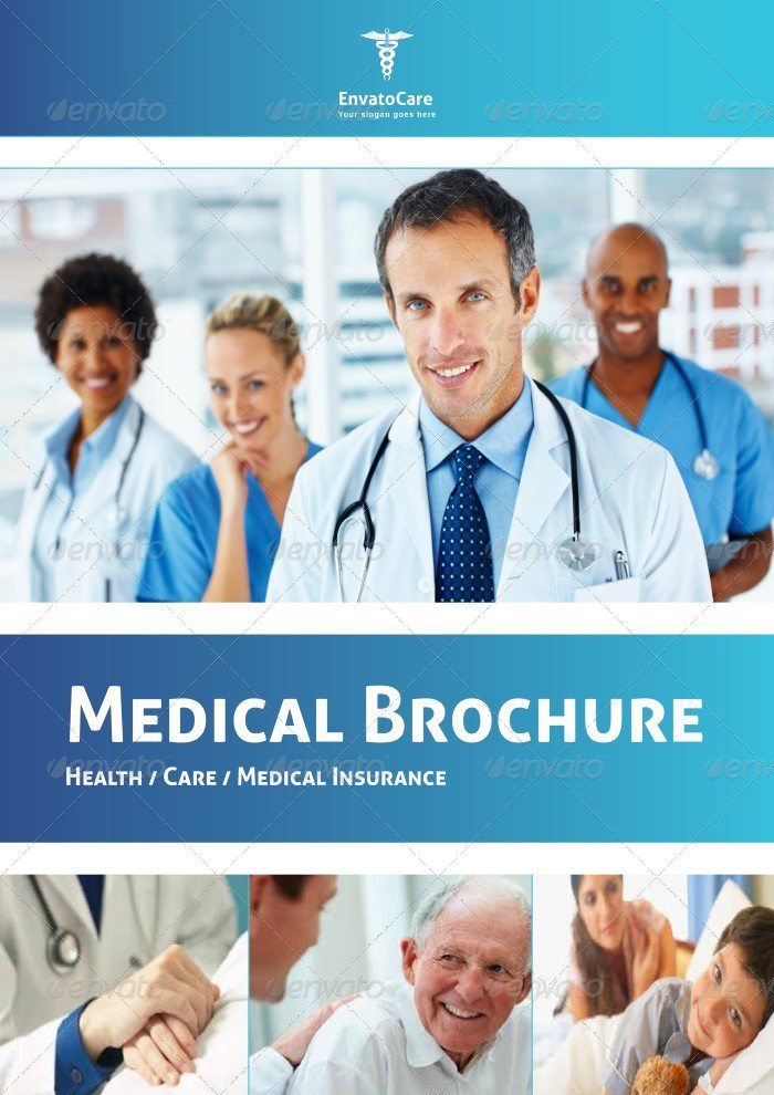 Medical HealthCare Brochures Templates Creative Template - Healthcare brochure templates free download