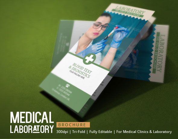Medical Laboratory Brochure Template