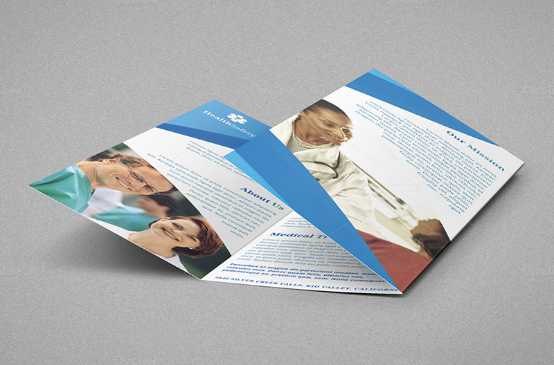 Medical Services A4 Trifold Brochure