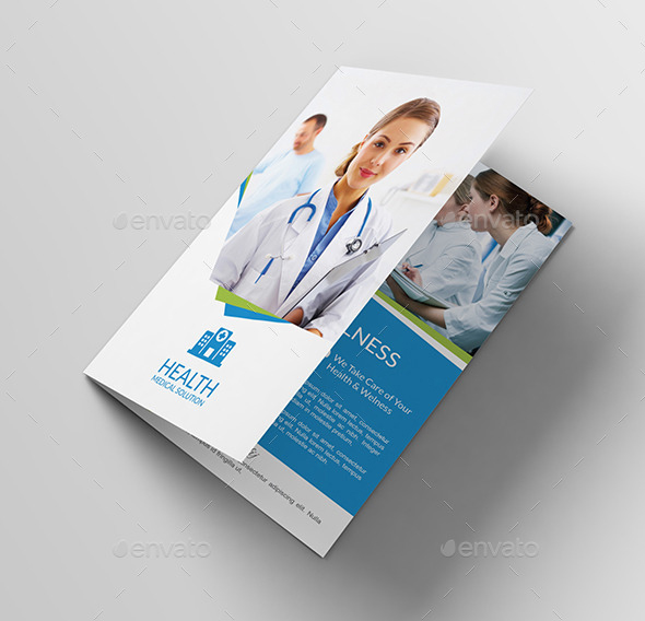 Medical Solution Brochure Template