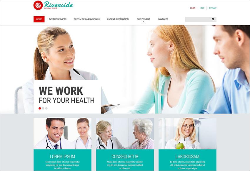 Medical Theme Built On HTML5 & CSS3