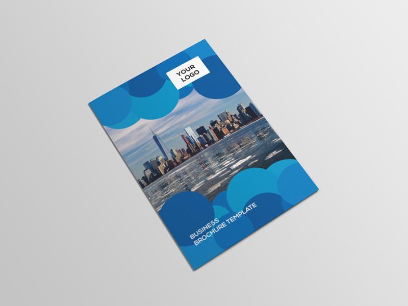 Modern Abstract Bi-Fold Brochure