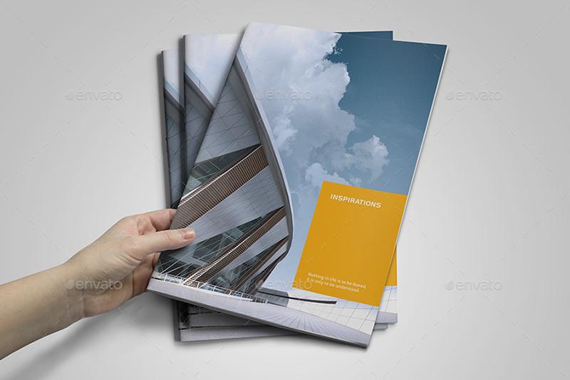 Modern Construction Brochure Template