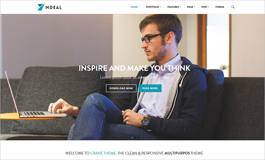 Modern & Professional Business Drupal Fuly Responsive Theme