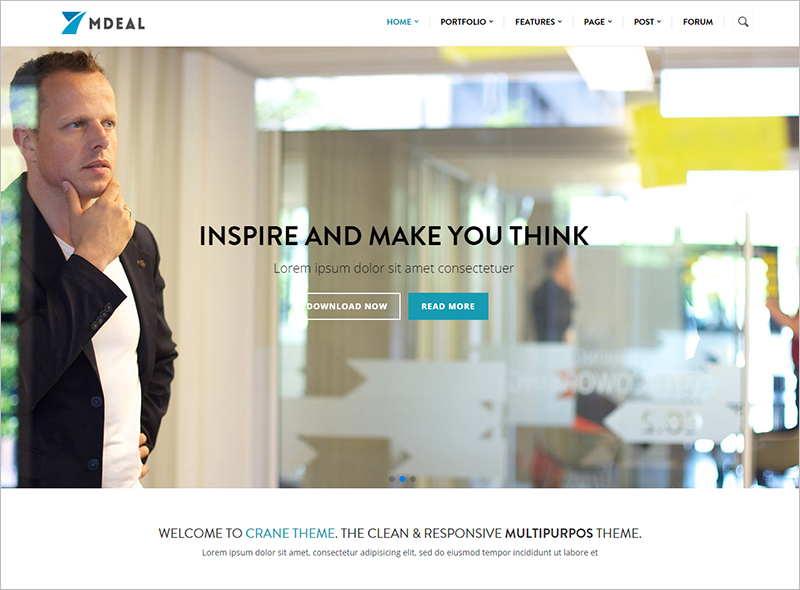 Modern & Professional Business Drupal Theme