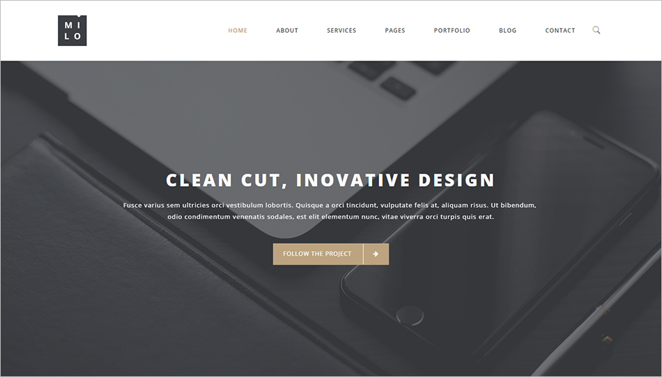 Multi-Purpose Gallery Web BootstrapTemplate