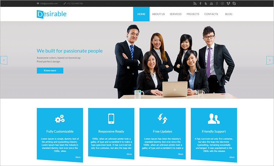 Multi-Purpose HTML5 Business Template
