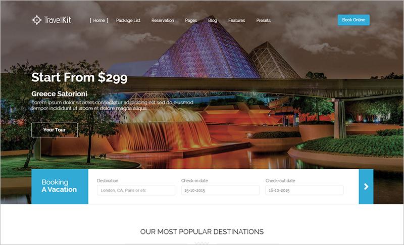 Multi Purpose Joomla Hotel Template