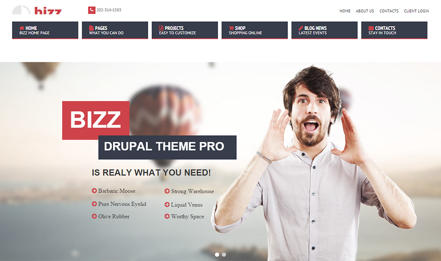 Multipurpose Fashion Drupal Theme