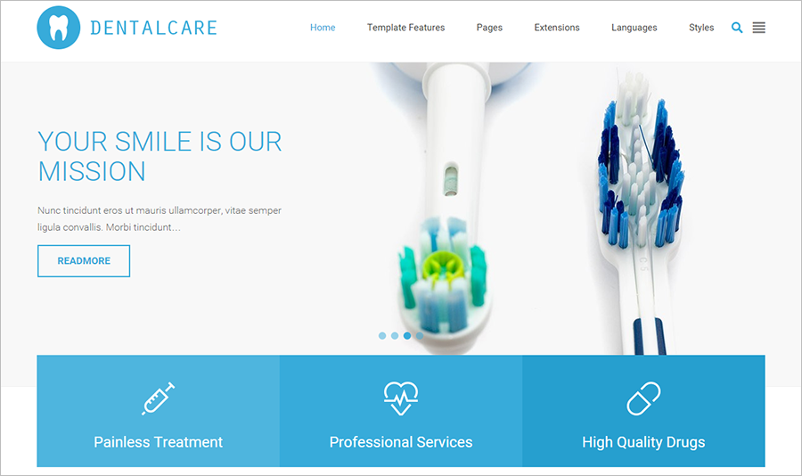 Multipurpose Health & Medical Services Template