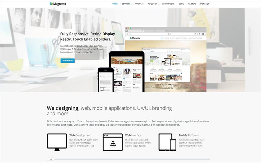 Multipurpose Portfolio Drupal Theme