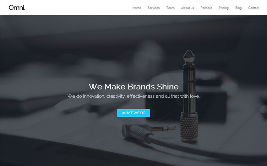 Multipurpose Responsive Template With JQuery Enhanced Features