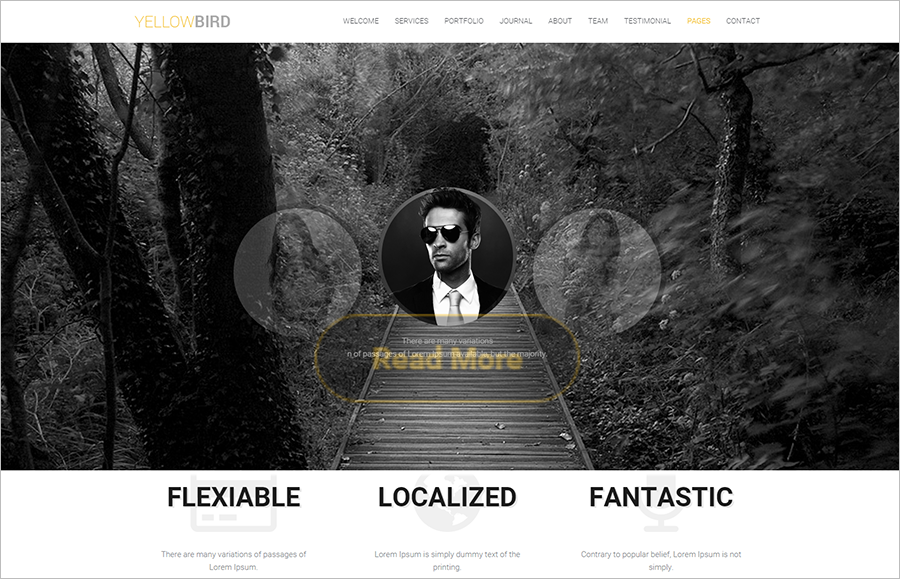Multipurpose WP Theme With JQuery