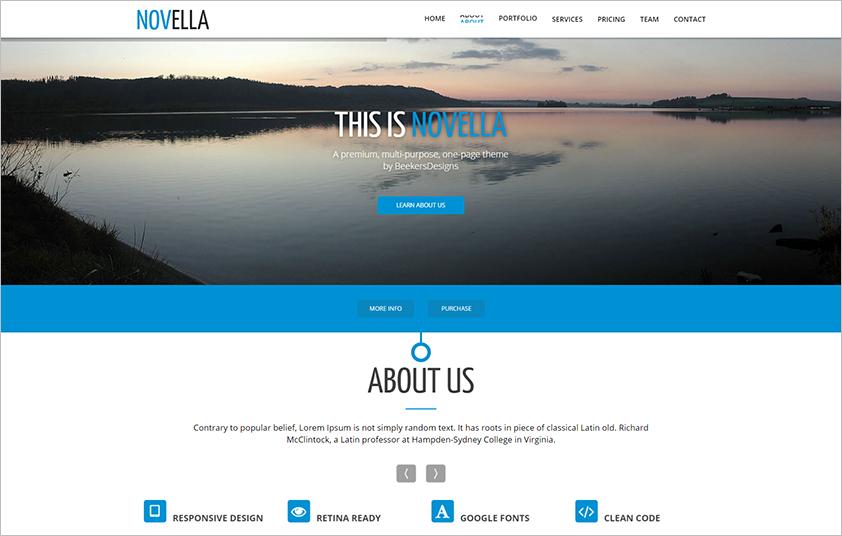 Multipurpose WebSite Template Built On HTML,CSS & JQuery