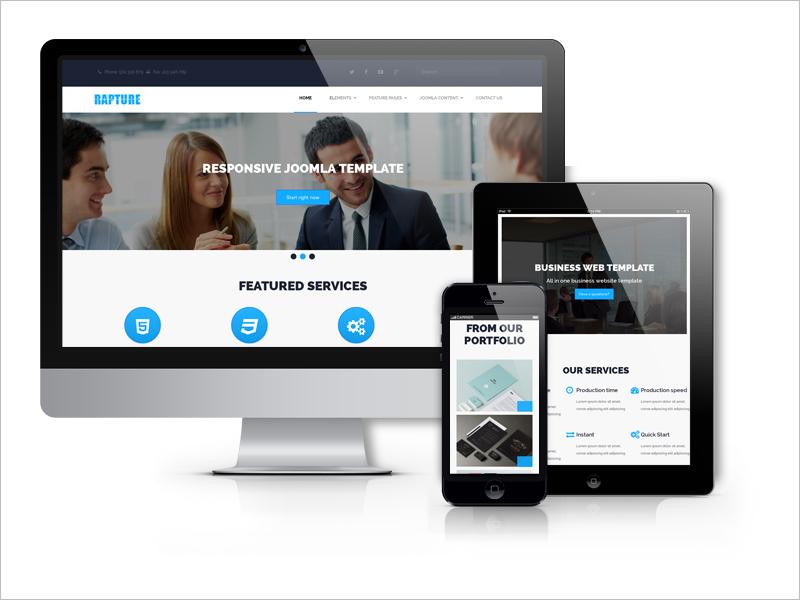 New Drupal Business website Template