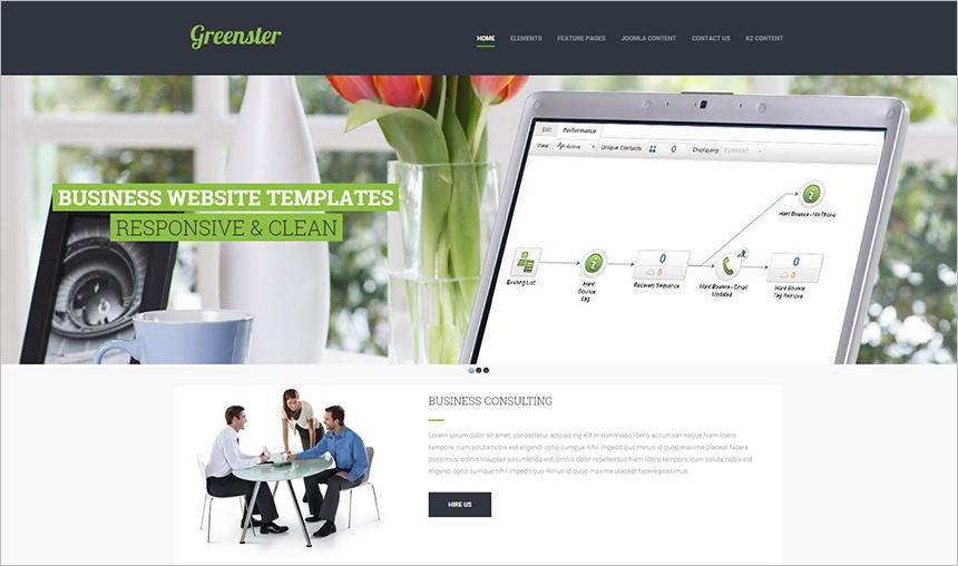 New & Modern Joomla Business Template