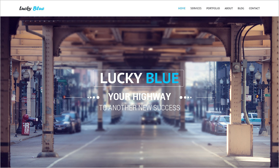 One-page, Multipurpose WP Theme With JQuery