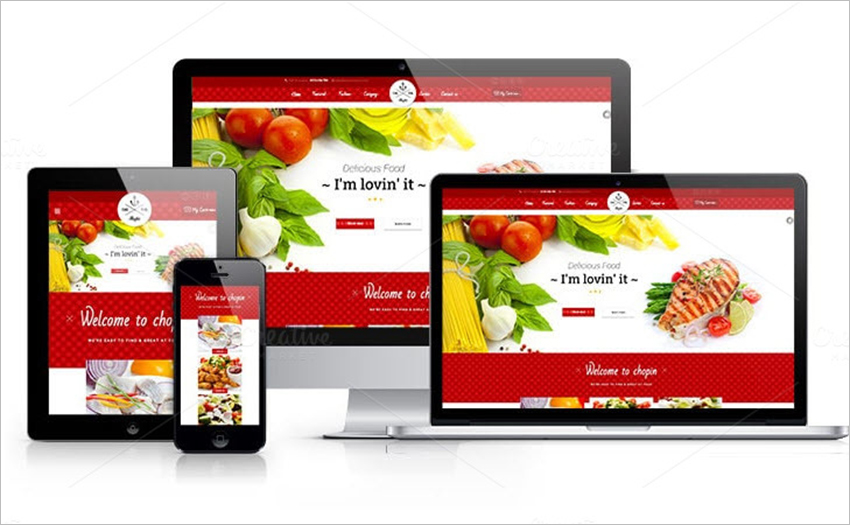 Online Fast Food Store Prestashop Theme