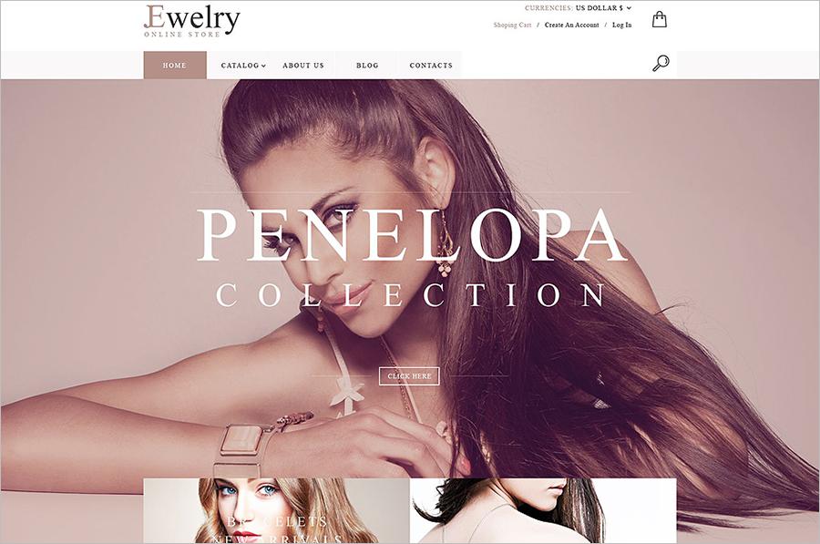 Online Jewelry Store VirtueMart Theme