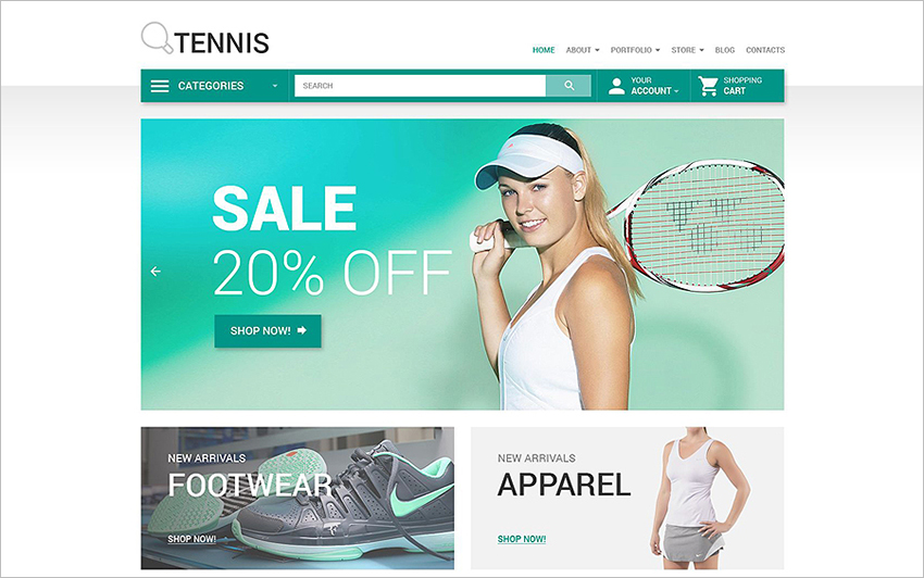 Online Sports Store WooCommerce Theme