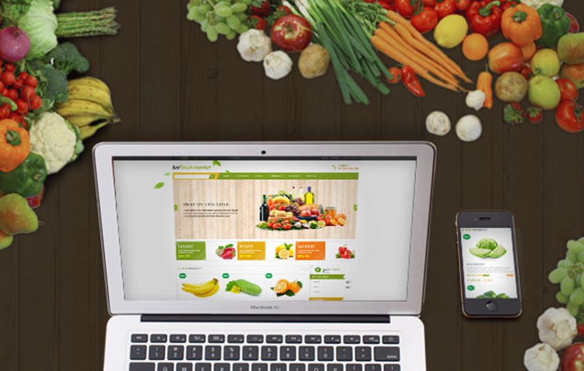 Online Store For Fresh Food Prestashop Theme