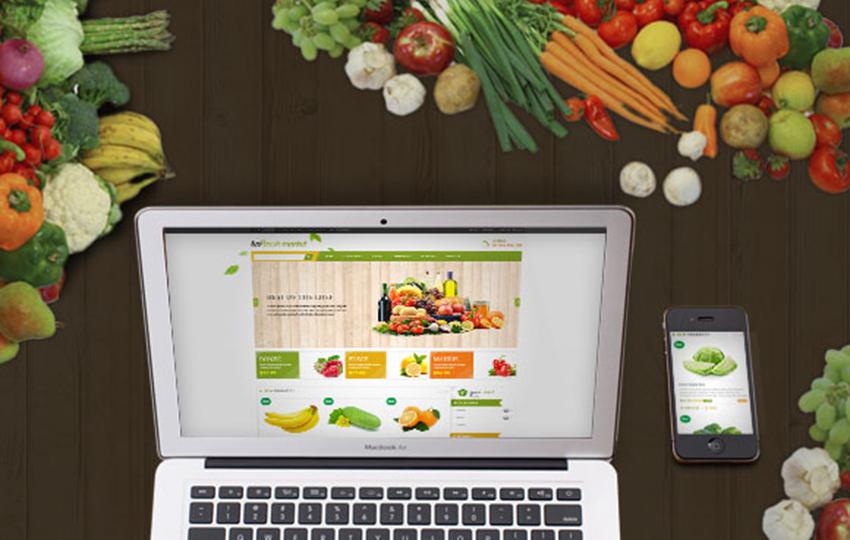 Online Store For Fresh Food Prestashop Theme