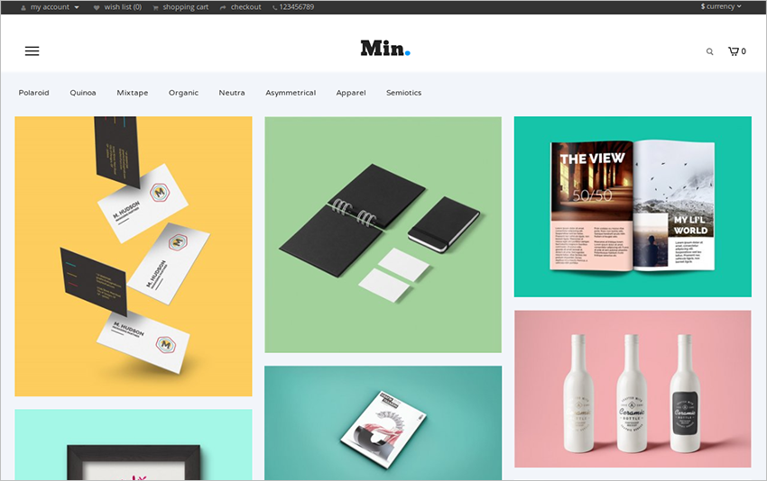 Online Store Opencart Theme