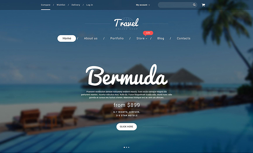 Online Travel Booking WooCommerce Theme