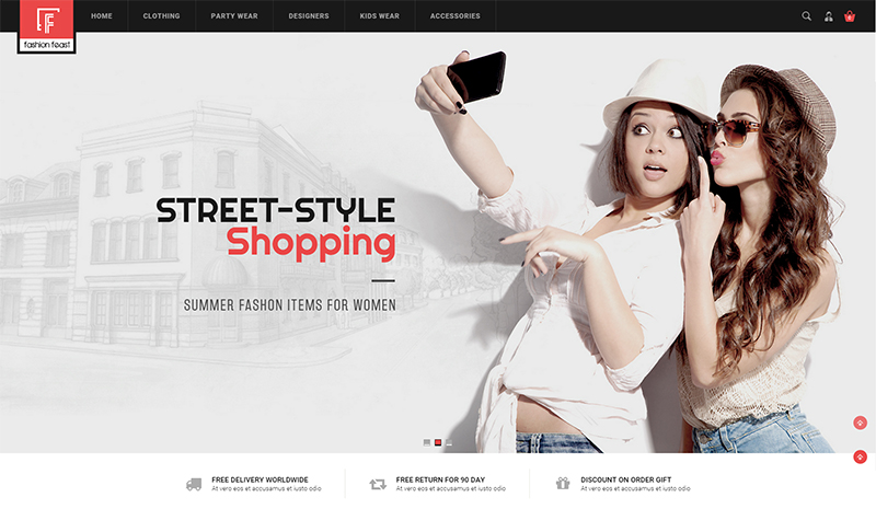 Opencart Template for Fashion Designer