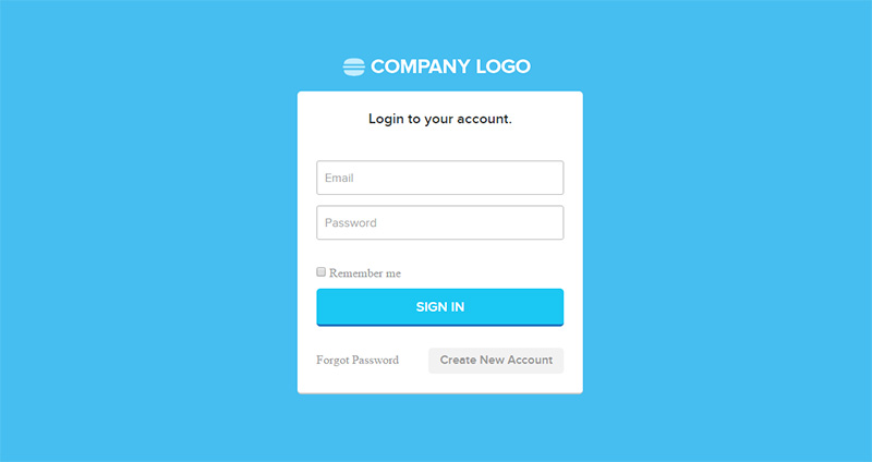 PHP Registration Form Template Download
