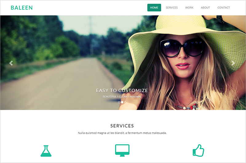 Parallax Scrolling Bootstrap Responsive Web Template