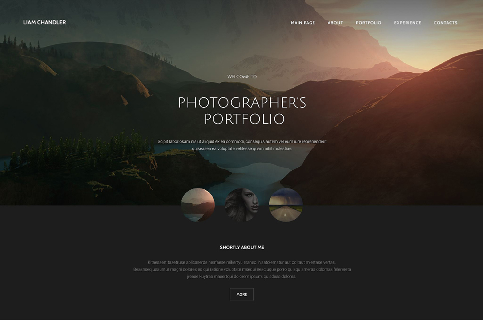 26 Photography Html5 Website Templates Free Themes