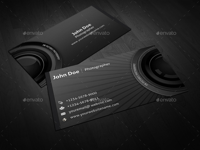 Photography Business Card Ideas