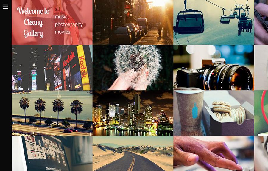 Portfolio Gallery Website Bootstrap Template