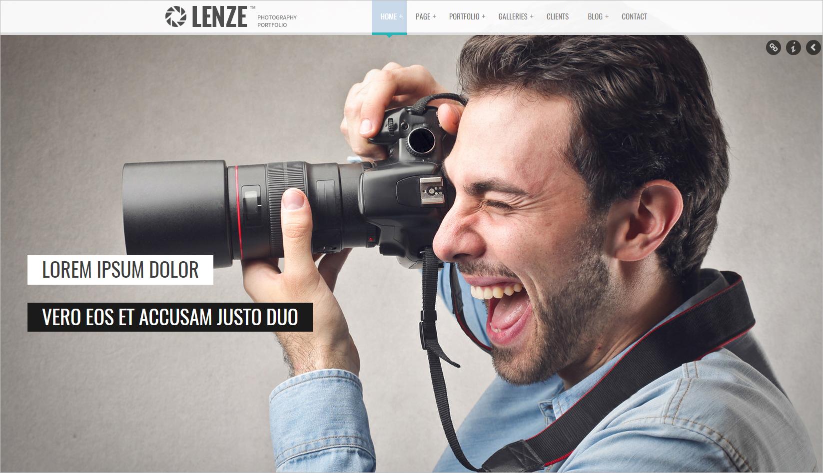 Portfolio Photography HTML Template
