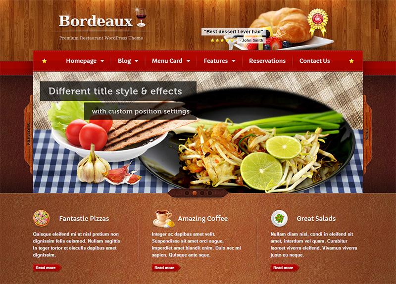 Premium Restaurant HTML Template