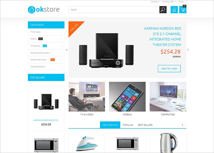 Prestashop Electronics Store Template