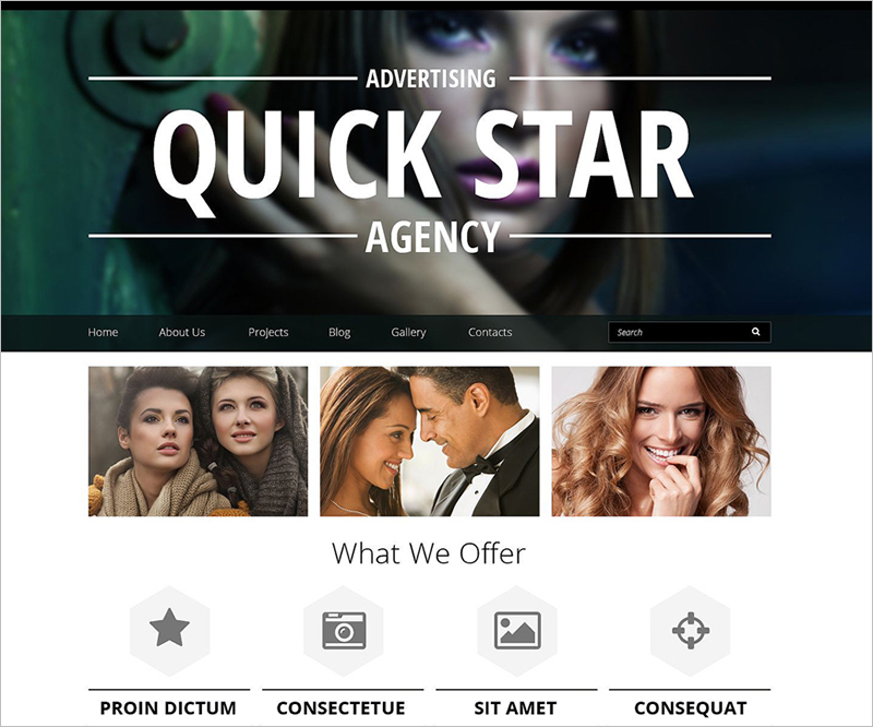 Creative Advertising Business Drupal Template