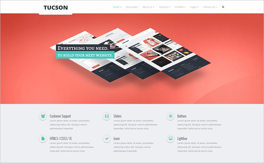 Professional Multipurpose Template With JQuery Plugin