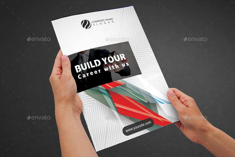 Real Estate Bi Fold Brochure Template